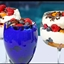 White Chocolate Mousse with fresh fruit