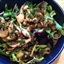 Wild Mushroom Salad with Balsamic Vinaigrette