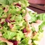 Winter Green Salad with Cranberry Vinaigrette