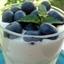 Zabaglione with Blueberries (Zabaglione Con Mirtilli)