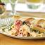 Ziti with Spinach, Cherry Tomatoes and Gorgonzola Sauce