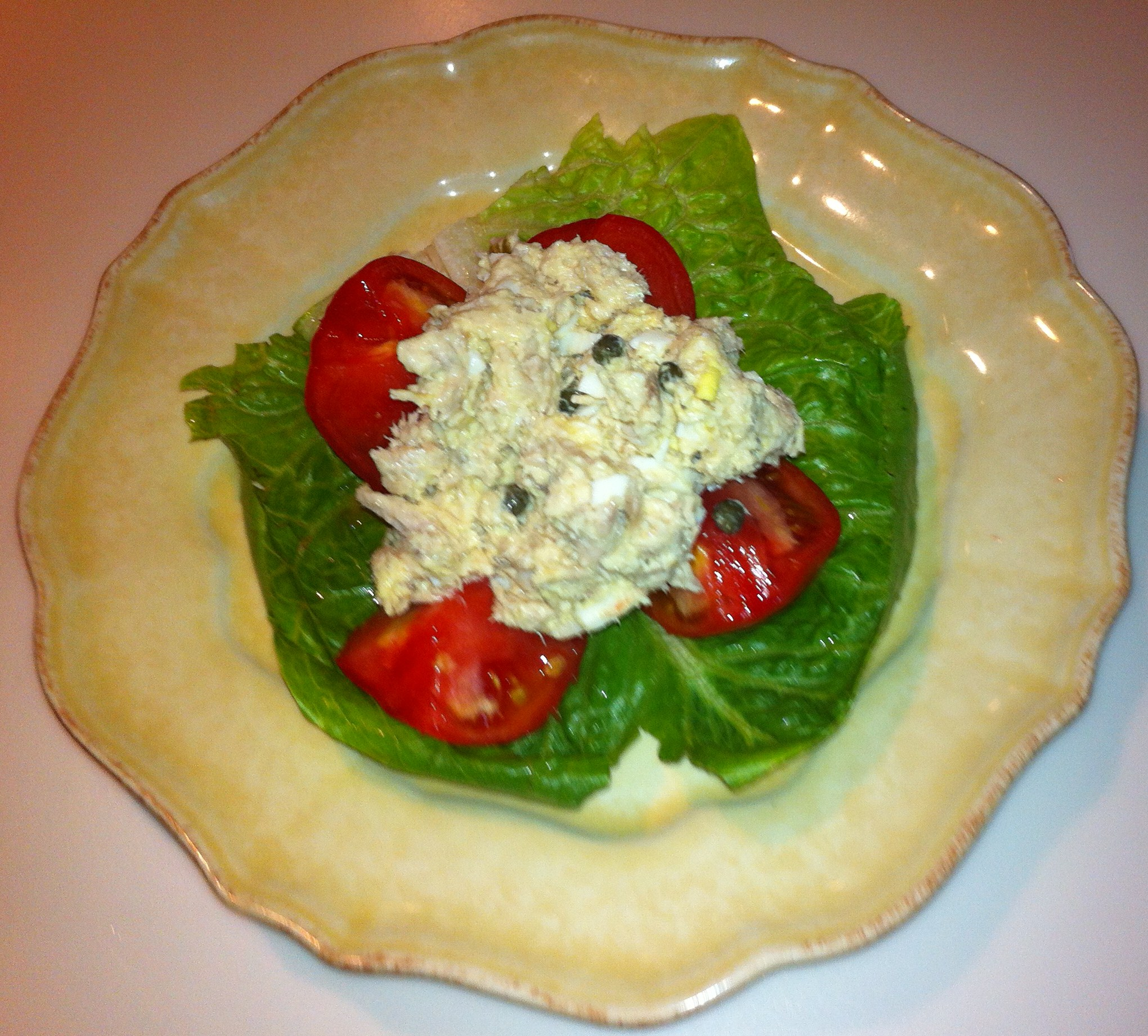 Recipes Course Salad Meat and Seafood RT's Tuna Fish Salad