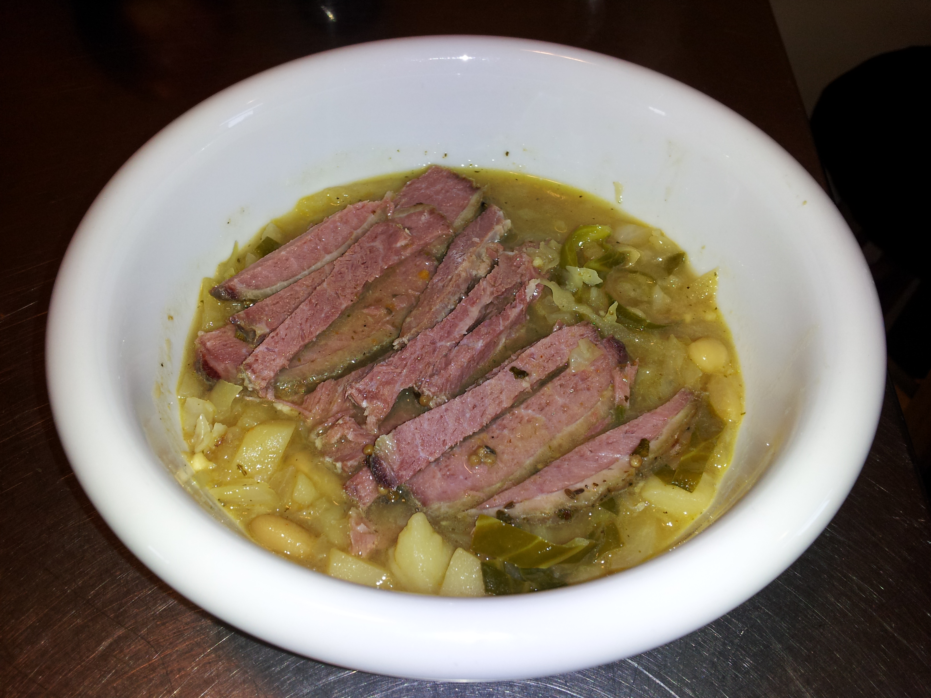 ... Course Soups, Stews and Chili Beans and Legumes Rustic Cabbage Soup