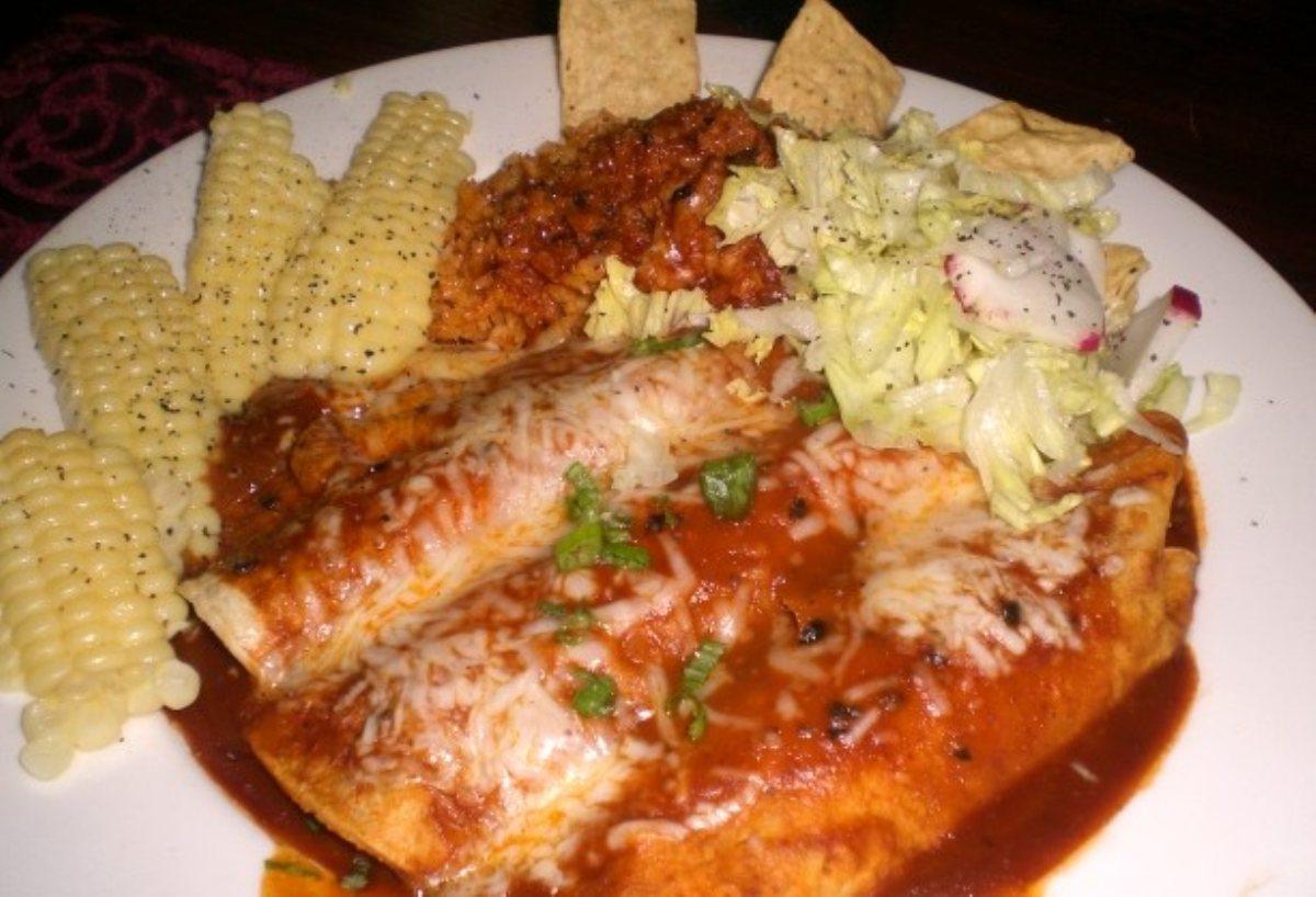 ... Main Dish Tacos, Burritos and Enchiladas Shrimp and Crab Enchiladas