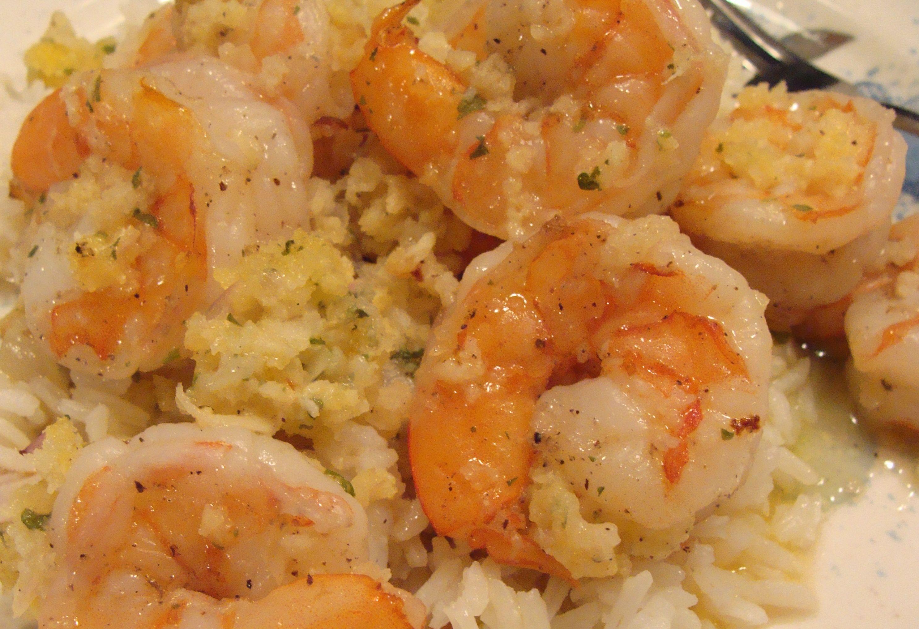 Shrimp Scampi over Rice - BigOven 202361