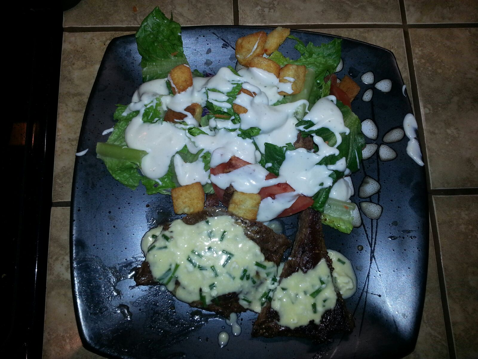 Steaks With Blue Cheese Butter Recipes — Dishmaps