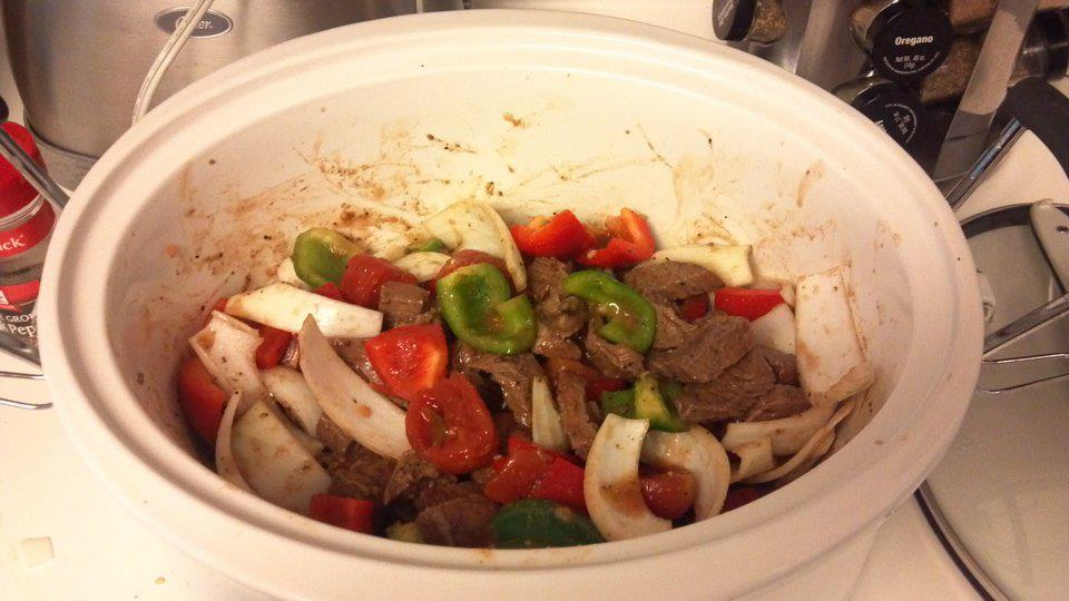 ... Course Main Dish Meat - Steaks and Chops Slow Cooker Pepper Steak