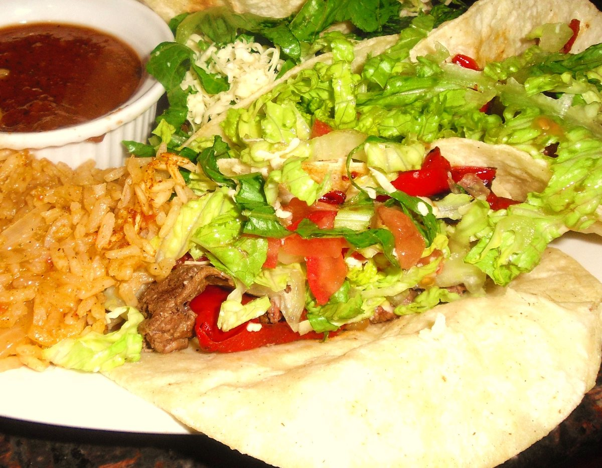 ... Course Main Dish Tacos, Burritos and Enchiladas Smoky Beef Tacos