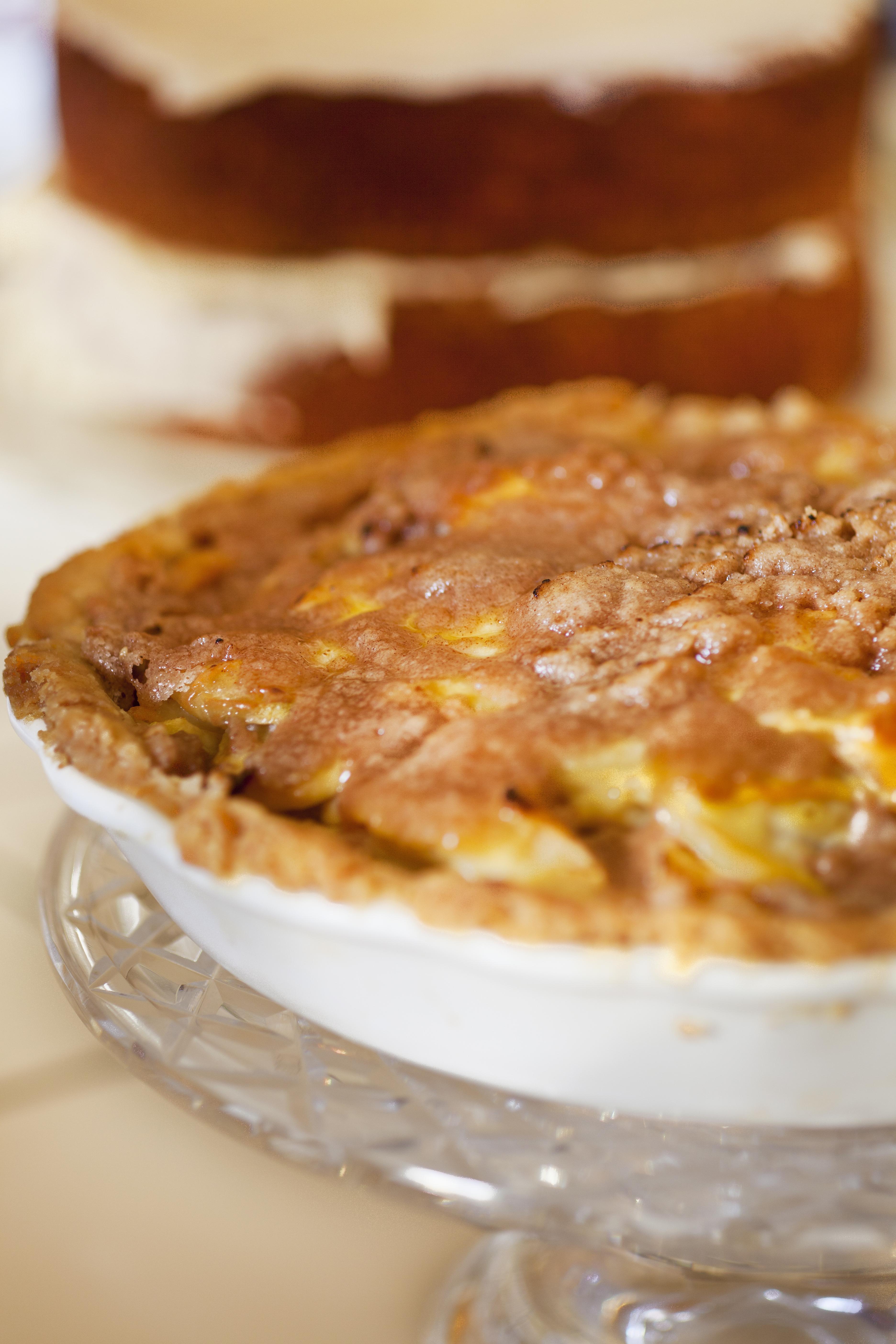 Sour Cream Apple Pie II Recipe — Dishmaps