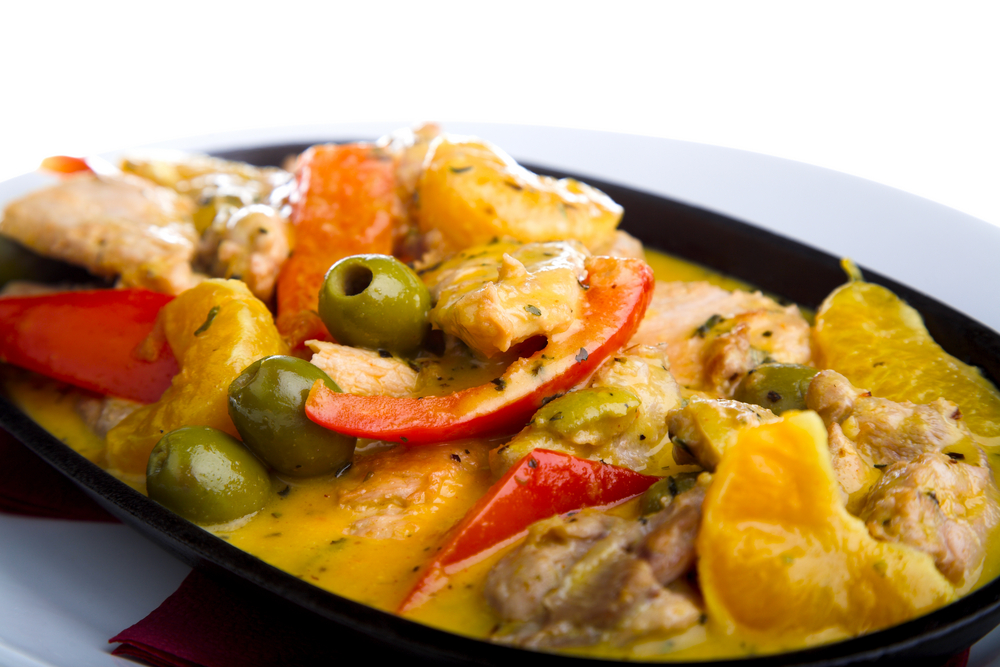 chicken with olives ready in 4 hours spanish chicken with olives ...