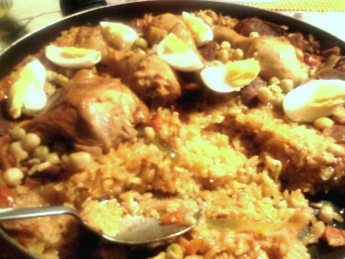 ... Course Main Dish Poultry - Chicken Spanish-Style Chicken and Rice