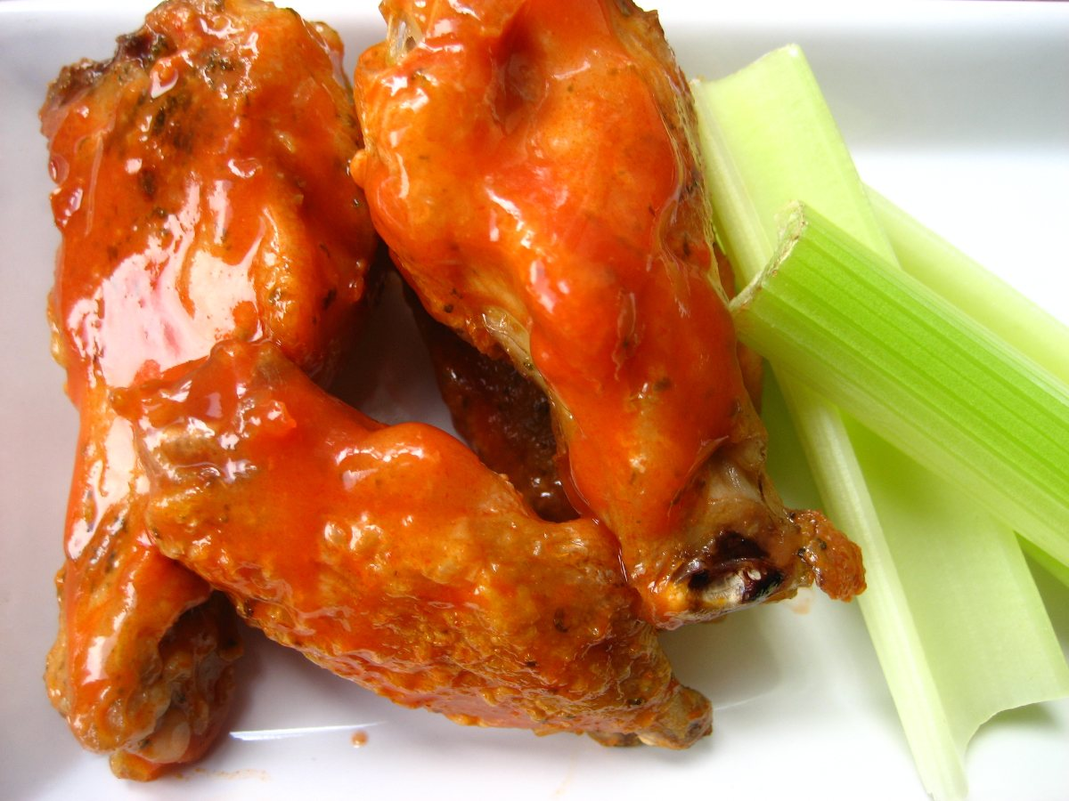 Recipes Course Main Dish Poultry - Chicken Spicy Baked Chicken Wings