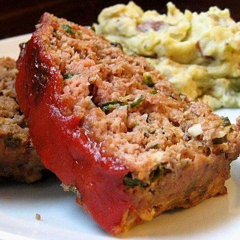 Recipes Course Main Dish Meatloaf Spicy Meatloaf with Chipotle Sauce