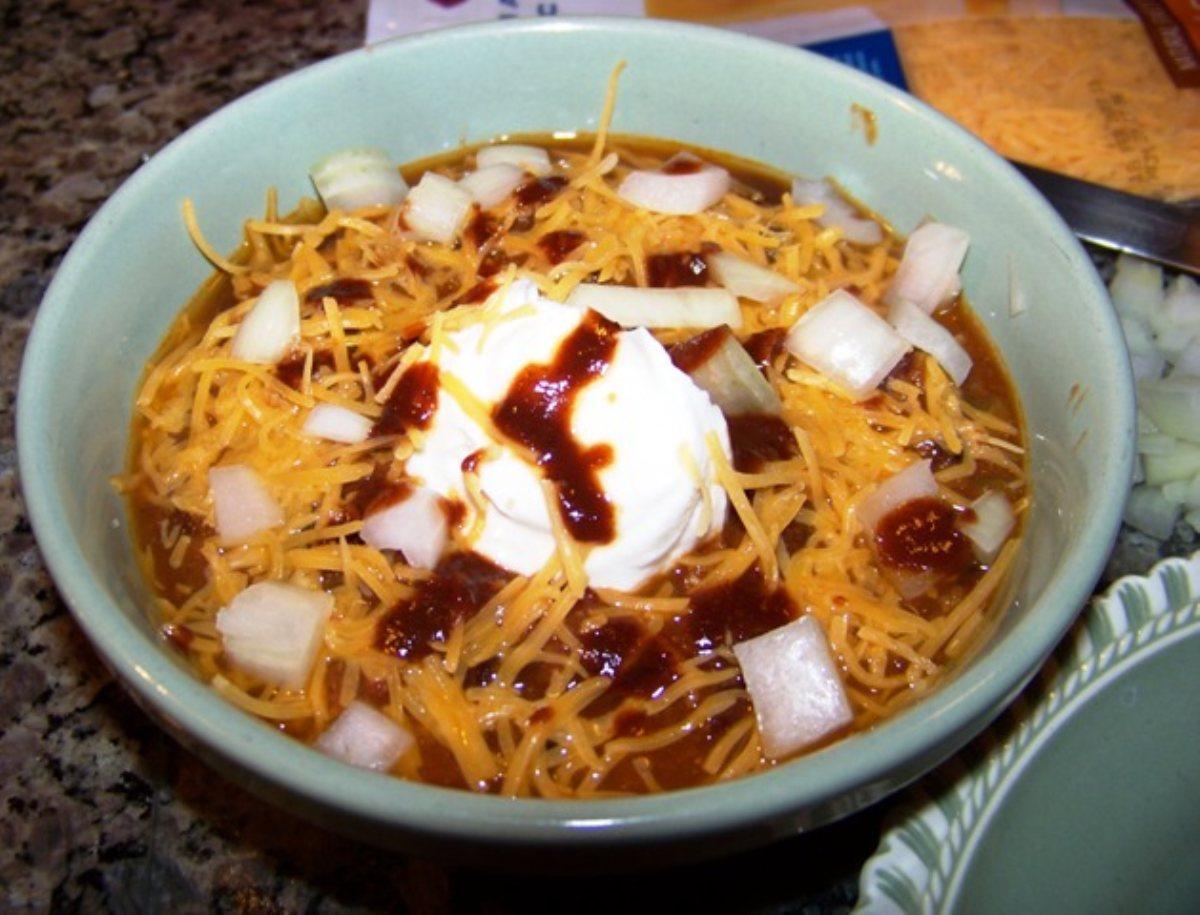 Recipes Course Soups, Stews and Chili Chili Spicy Turkey-Bean Chili