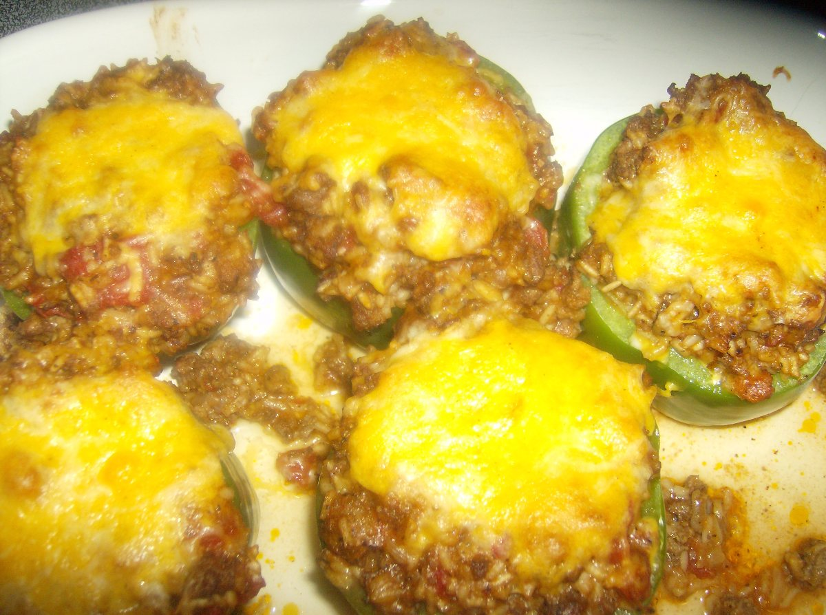 Recipes Course Main Dish Stuffed Peppers Stuffed Green Peppers
