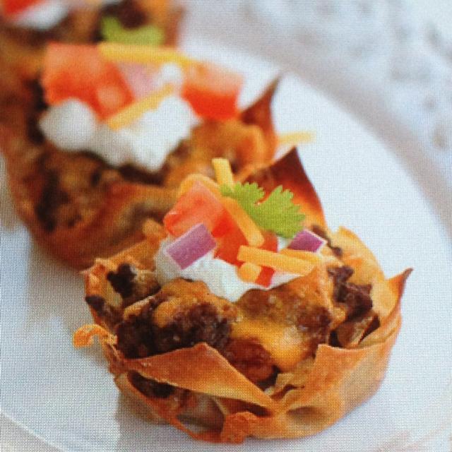 Taco Cupcakes - BigOven 281407