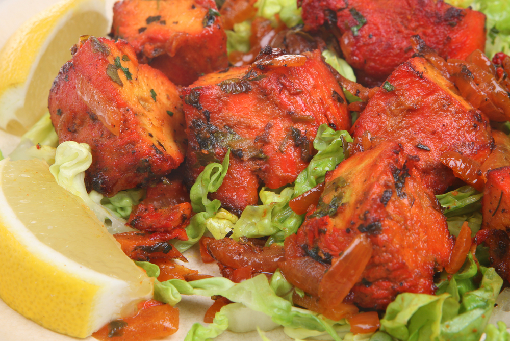 Tandoori Chicken Salad with Coriander and Lime Yoghurt Dressing ...