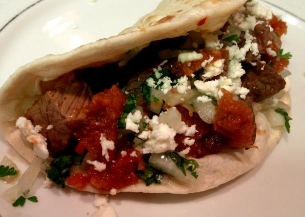 Chipotle Beef Tacos With Caramelized Onions (Tacos De ...
