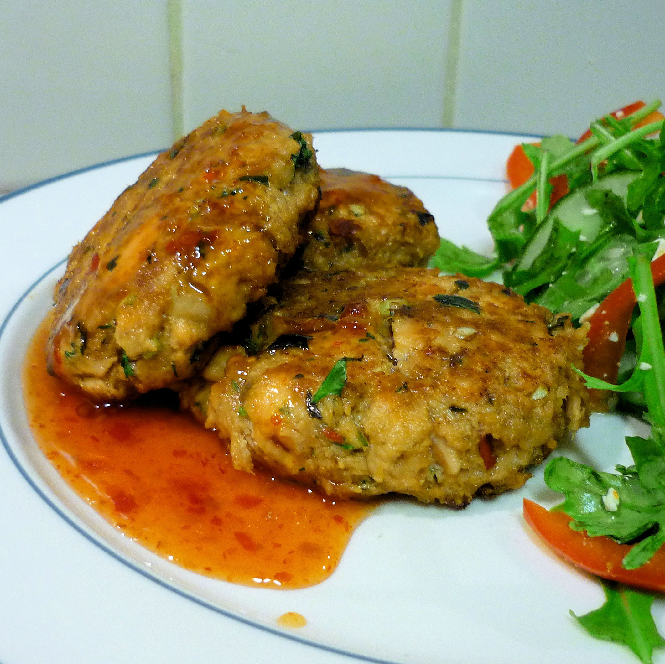 Object moved for Thai fish cakes