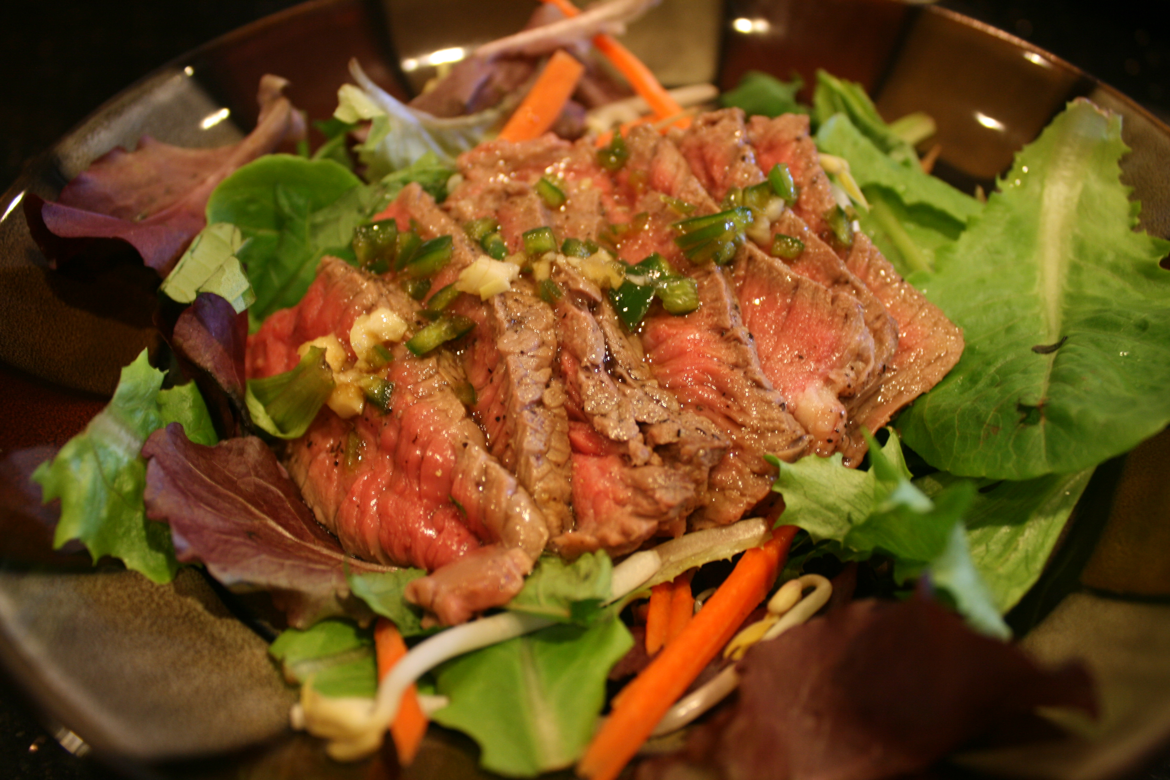 Recipes Course Salad Meat and Seafood Thai-Style Grilled Beef Salad