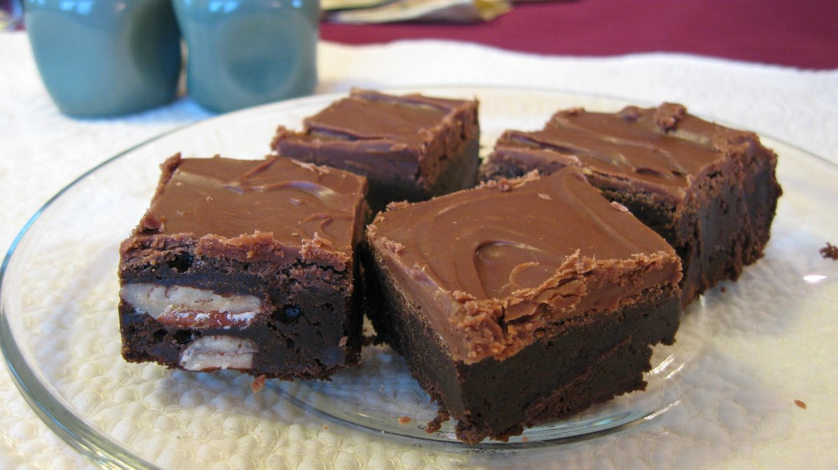 Recipes course desserts chocolate the best fudge brownies ever