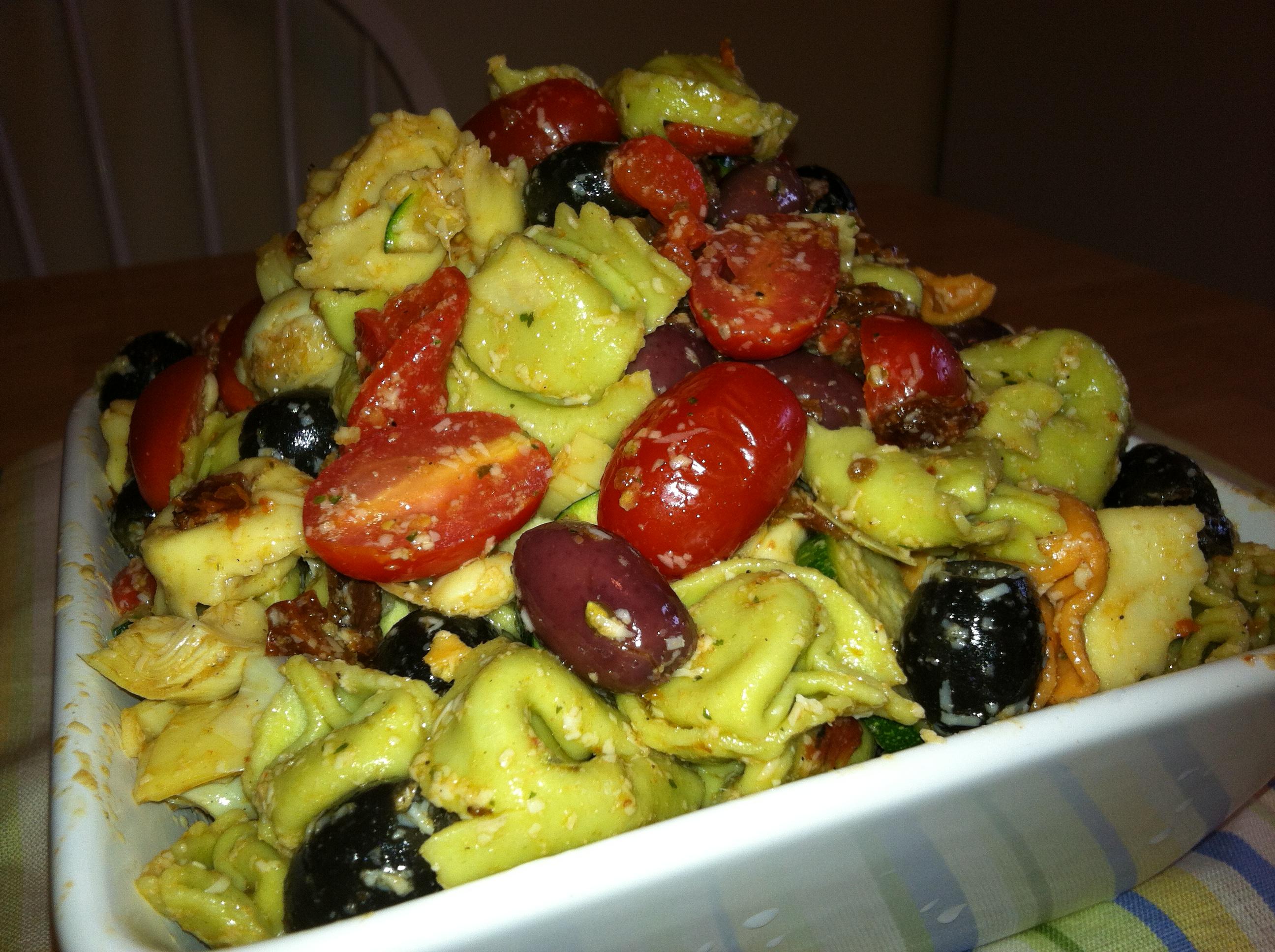 Recipes Course Salad Pasta Salads Tortellini Pasta Salad