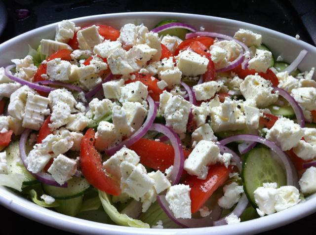 greek salad recipe traditional