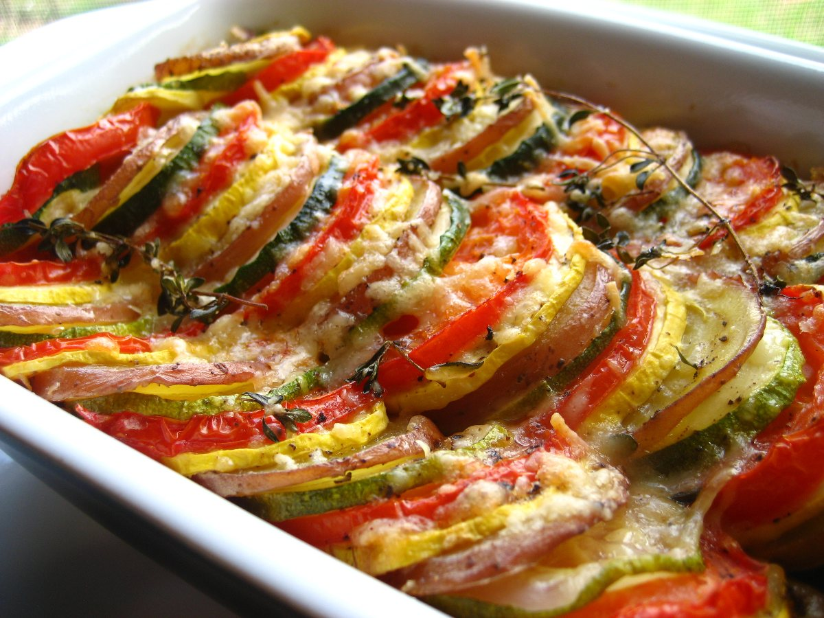 Vegetable Tian (Ina Garten) - BigOven 163548