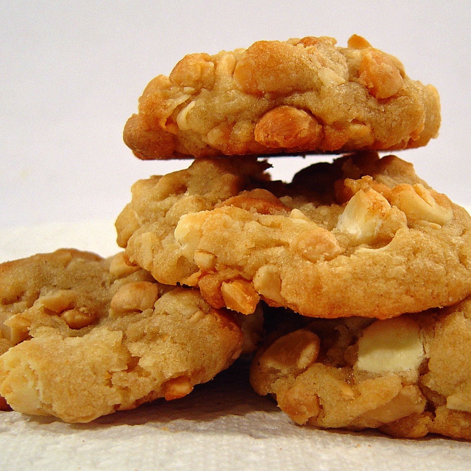 ... Course Desserts Cookies and Bars White Chocolate Macadamia Cookies