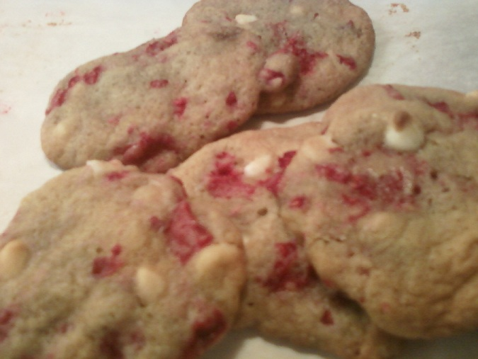 ... Course Desserts Cookies and Bars White Chocolate Raspberry Cookies
