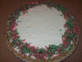 Recipes Course Desserts White Christmas Pie