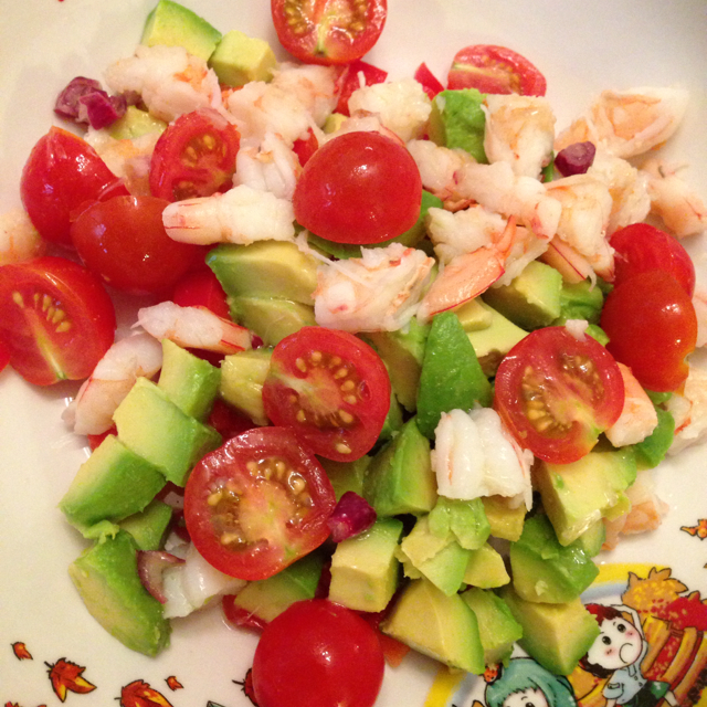 Zesty Lime Shrimp and Avocado Salad - BigOven 253995